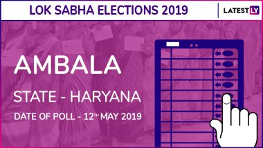 Ambala Lok Sabha Constituency Result 2019 in Haryana: Rattan Lal Kataria of BJP Wins Parliamentary Election