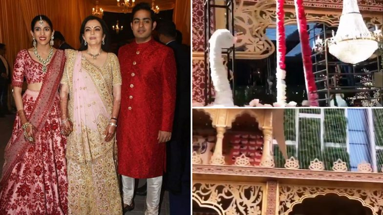 Akash Ambani-Shloka Mehta Wedding: Antilia Is All Decked up Like a Beautiful Bride