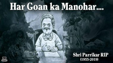 Amul Pays Tribute to Late Goa Chief Minister Manohar Parrikar in a Topical Ad (See Pic)
