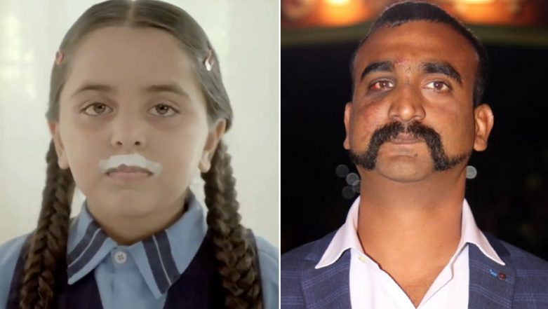 Amul Pays Tribute to IAF Wing Commander Abhinandan Varthaman's Moustache With a Video, Twitterati Impressed