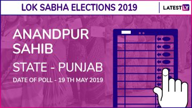 Anandpur Sahib Lok Sabha Constituency in Punjab Results 2019: Congress Candidate Manish Tewari Elected as MP