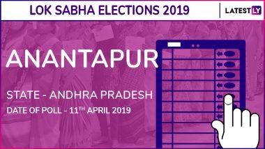 Anantapur Lok Sabha Constituency in Andhra Pradesh Results 2019: Talari Rangaiah of YSRCP Wins Parliamentary Election