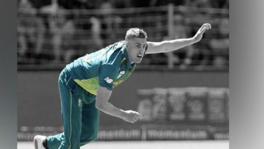 IPL 2020 Player Update: Delhi Capitals Name Anrich Nortje as Replacement of Chris Woakes