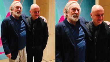 Anupam Kher Celebrates His 64th Birthday With Robert De Niro!