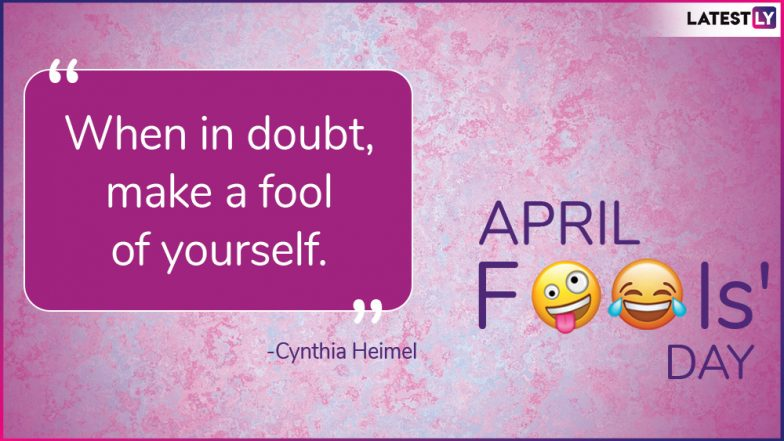 April Fools' Day Funny Quotes and Messages: Hilarious Quotes & Prank GIF Images to Share on April 1
