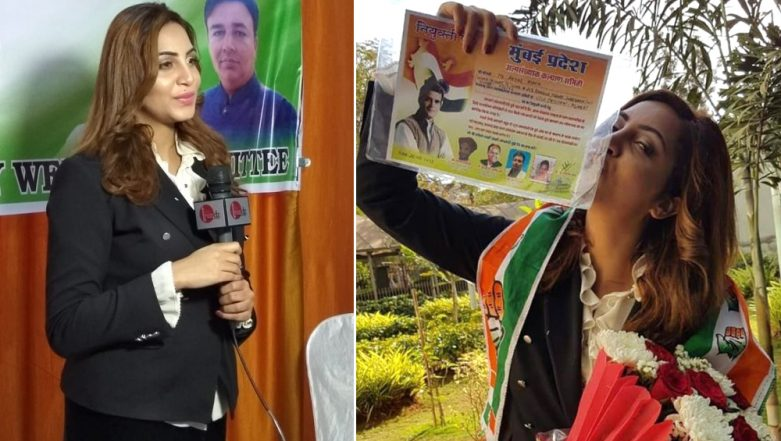 Arshi Khan Follows Shilpa Shinde's Route, Bigg Boss 11 Contestant Joins Congress (View Pics)