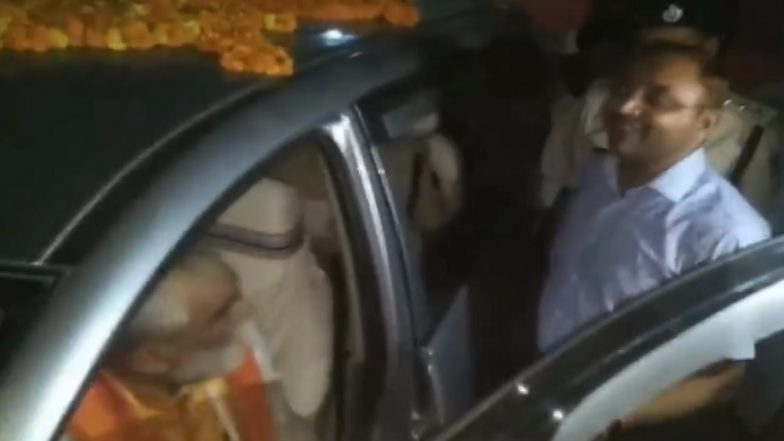 Union Minister Ashwini Kumar Choubey Caught on Camera Misbehaving With SDM After Alleged Violation of MCC, Watch Video