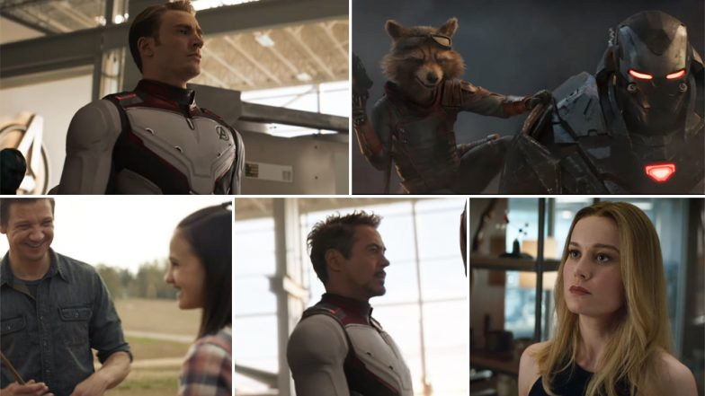Avengers: Endgame New Trailer: Tony Stark's Return From the Space and Captain Marvel's Inclusion in the Team Are Just Some of the Many Reasons To Make us Jump With Joy (Watch Video)