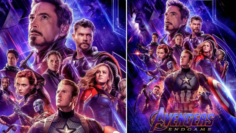 Avengers: Endgame New Poster Has Captain Marvel, Iron Man, Hawkeye, Ant-Man Assemble with Other Superheroes – View Pic