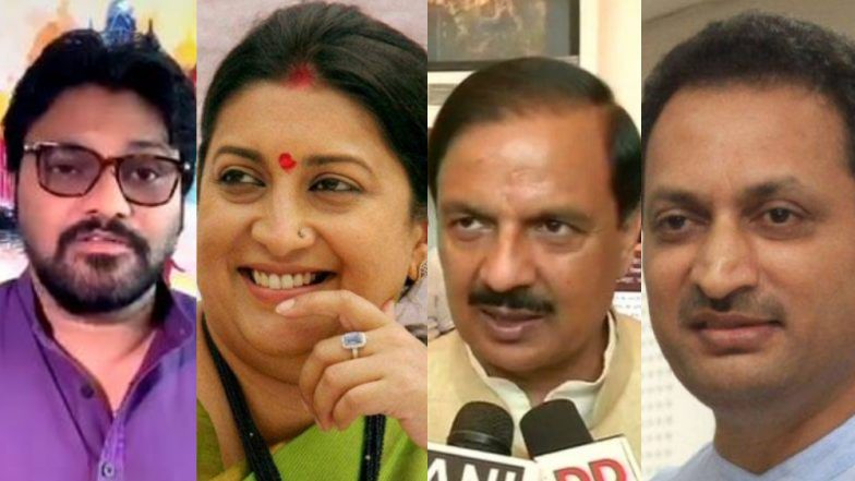 BJP First List of Candidates For Lok Sabha Elections 2019 Repeats Union Ministers Smriti Irani, Anantkumar Hegde and Others