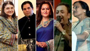 Lok Sabha Elections 2019: BJP Releases Tenth List of 39 Candidates; Maneka Gandhi, Jaya Prada, Varun Gandhi, Sadhvi Niranjan Jyoti and Rita Bahuguna Joshi Get Prominence