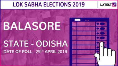 Balasore Lok Sabha Constituency in Odisha: Candidates, Current MP, Polling Date And Election Results 2019