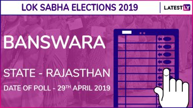 Banswara Lok Sabha Constituency in Rajasthan: Candidates, Current MP, Polling Date And Election Results 2019