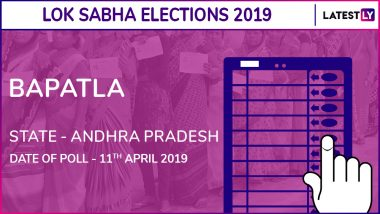 Bapatla Constituency in Andhra Pradesh Results 2019: Nandigam Suresh of YSRCP Wins Parliamentary Election