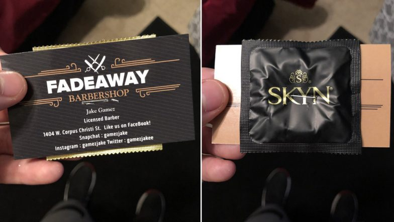 Free Condoms Given by Barber in US to Promote Himself Has a Major Flaw, Check Tweets