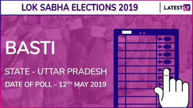 Basti Lok Sabha Constituency in Uttar Pradesh Results 2019: Harish Chandra of BJP Wins Parliamentary Election