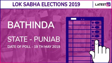 Bhatinda Lok Sabha Constituency in Punjab Results 2019: Shiromani Akali Dal Candidate Harsimrat Kaur Badal Elected as MP