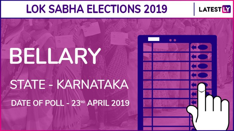 Bellary Lok Sabha Constituency in Karnataka: Candidates, Current MP, Polling Date and Election Results 2019