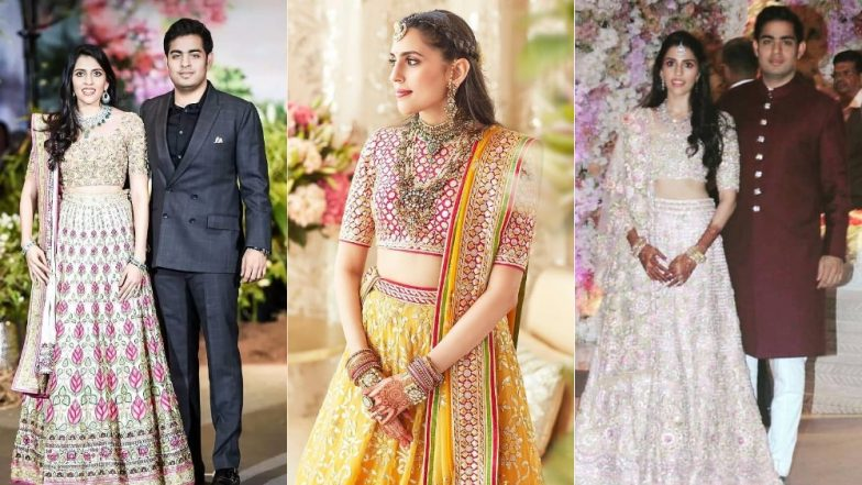 Shloka Mehta-Akash Ambani Wedding on March 9: Ten Times The Bride-To-Be Rocked Traditional Ensembles! View Pics