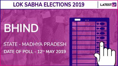 Bhind Lok Sabha Constituency Result 2019 in Madhya Pradesh: Sandhya Ray of BJP Wins Parliamentary Election