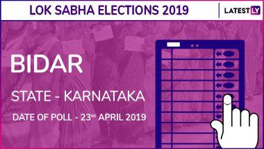 Bidar Lok Sabha Constituency in Karnataka Results 2019: BJP Candidate Bhagwanth Khuba Elected As MP