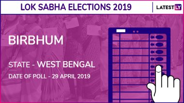 Birbhum Lok Sabha Constituency in West Bengal: Candidates, Current MP, Polling Date And Election Results 2019