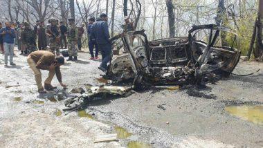 Jammu And Kashmir: Blast in Car on Jammu-Srinagar Highway, Close Shave For CRPF Convoy