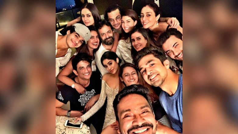 Priyanka Chopra Jonas, Sushant Singh Rajput, Janhvi Kapoor: This Bollywood Selfie of the Season Is All About Smile and Glam – See Pic