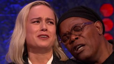 Brie Larson And Samuel L Jackson Just Recreated Lady Gaga - Bradley Cooper's Shallow Duet From The Oscars 2019; It Is Super Epic!
