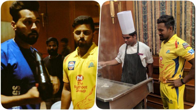 CSK Video Diaries: Suresh Raina, Mohit Sharma & Others Shoot for Chennai Super Kings' Theme Song