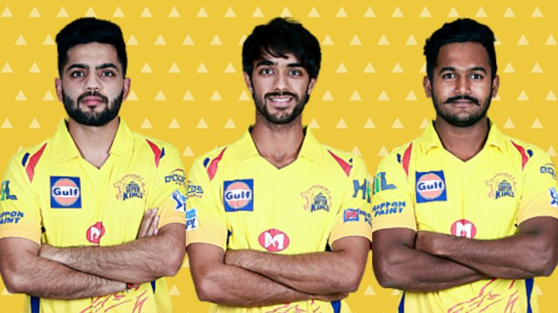 Team CSK New Players: Here's a Look at Upcoming Talent in Chennai Super Kings Squad for IPL 2019
