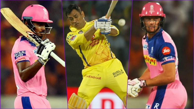CSK vs RR, IPL 2019 Match 12, Key Players: Sanju Samson to MSD to Jos Buttler, These Cricketers Are to Watch Out for at MA Chidambaram Stadium