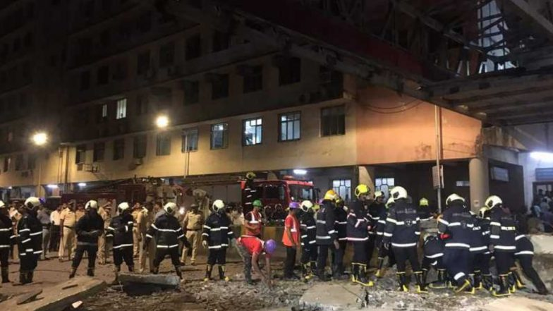Mumbai Foot Over Bridge Collapse: 5 Dead in CSMT Station FOB Collapse; Here's A Look At Similar Recent Mishaps in The Maximum City