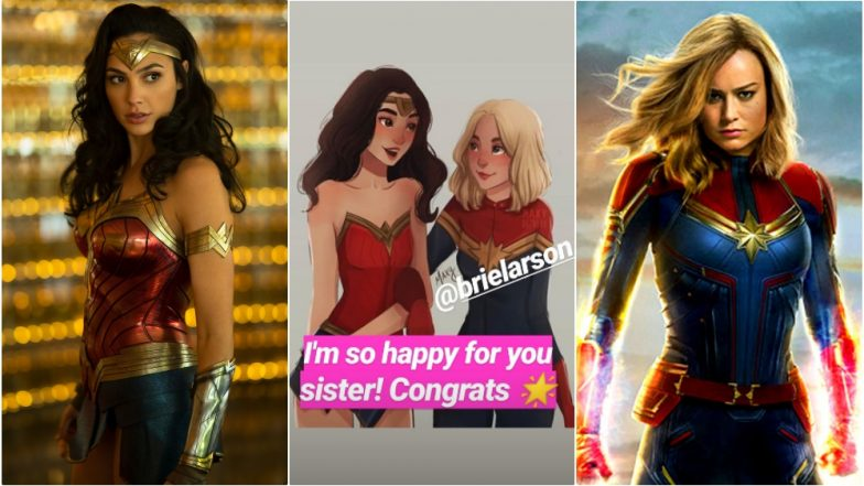 Captain Marvel Floors Wonder Woman! Gal Gadot Congratulates 'Sister' Brie Larson With a Sweet Instagram Story