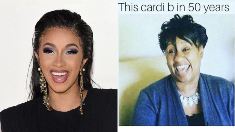 Cardi B Look Alike