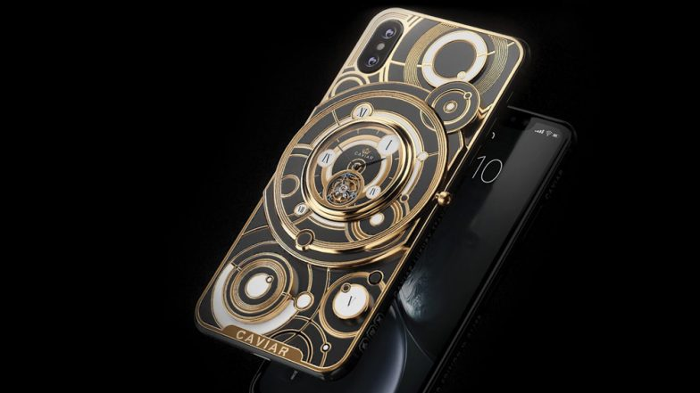 Caviar Announces Limited Edition iPhone XS & iPhone XS Max Tourbillion Models With A Mechanical Watch; Prices Start From Rs 5.8 Lakh