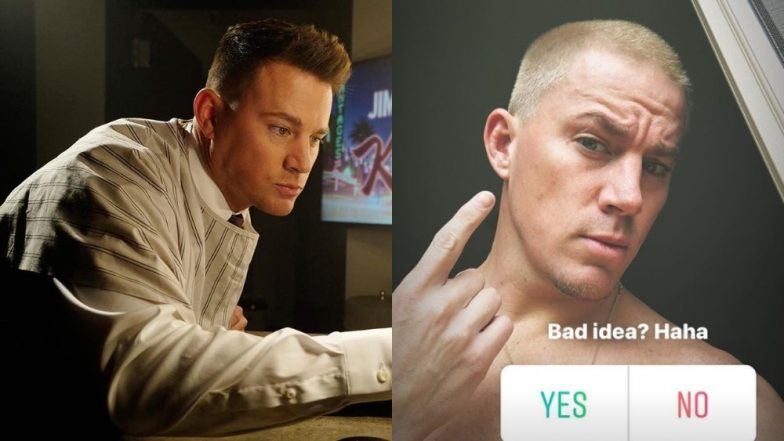 Channing Tatum's Goes For A Buzzed Crop Hair Cut With Platinum Blonde Hue And Asks Fans If It's A 'Yay' Or A 'Nay'!