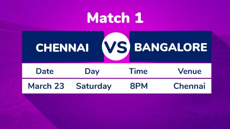 CSK vs RCB, IPL 2019 1st Match Preview: Blockbuster on Cards as MS Dhoni's Chennai Super Kings Play Virat Kohli's Royal Challengers Bangalore in VIVO IPL 12 Opener
