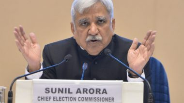Assembly Elections 2019 Dates Announcement: Watch Live Streaming of Election Commission's Press Conference on DD News