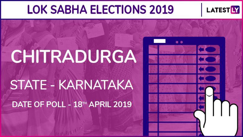 Chitradurga Lok Sabha Constituency in Karnataka Results 2019: BJP Candidate a Narayanaswamy Elected MP