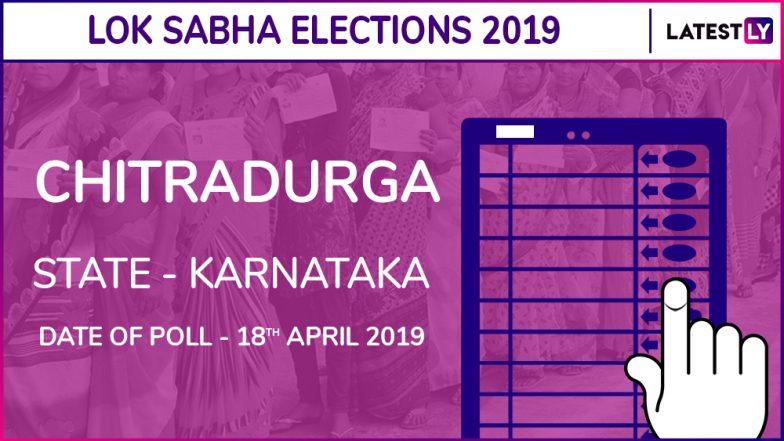 Chitradurga Lok Sabha Constituency in Karnataka: Candidates, Current MP, Polling Date and Election Results 2019