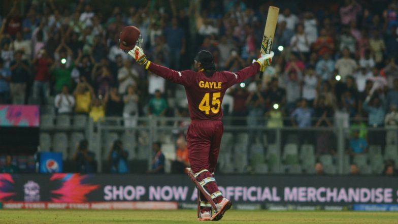 Chris Gayle goes off as England sink to new low