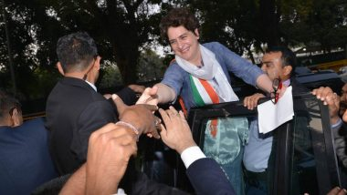 SP-BSP Alliance: Priyanka Gandhi Says Congress Contesting Lok Sabha Elections in UP Alone, 'Our Aim Is To Defeat BJP'