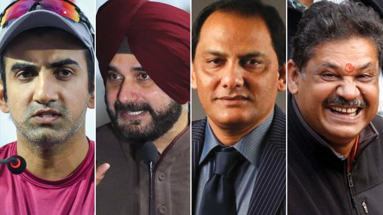 Gautam Gambhir Joins BJP; Navjot Singh Sidhu to Mohammad Azharuddin, Here's A List Of Other Cricketers Who Entered Politics
