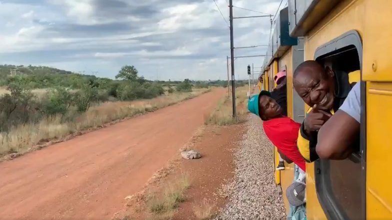 South African President Cyril Ramaphosa Stuck in Train for Hours During Election Tour