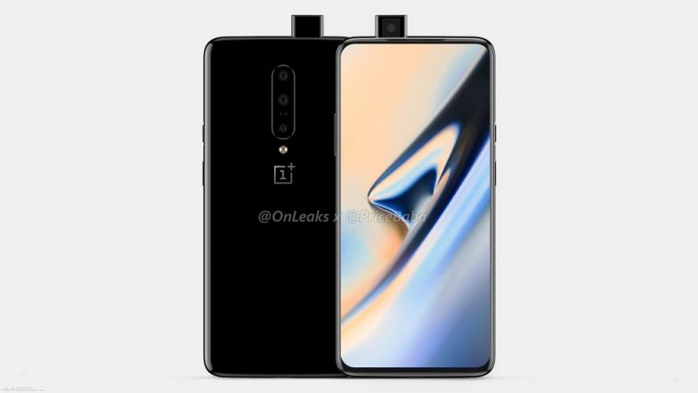 New OnePlus 7 Render Images Leaked Online; Reveals Pop-Up Selfie Camera & Triple Rear Camera
