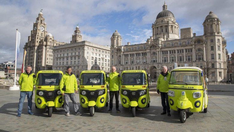 Ola UK Introduces Bajaj & Piaggio Green Tuk-Tuks in Merseyside; Free Rickshaw Rides Offered Around Liverpool City Centre