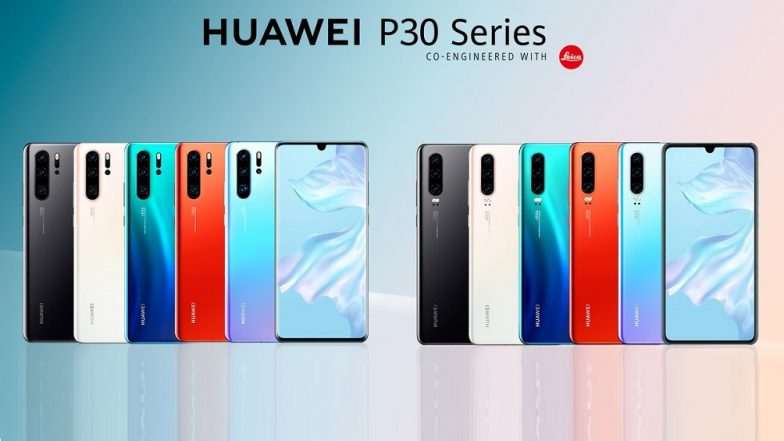 Huawei P30 Flagship Smartphone To Be Launched in India on April 9; Will Be Retailed Exclusively Via Amazon.in