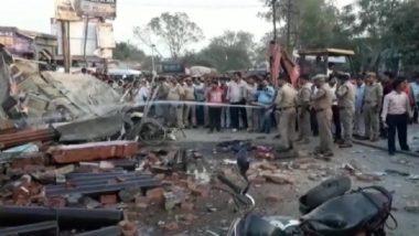 Uttar Pradesh: Five Dead in Oxygen Cylinder Blast in Jaunpur, Yogi Adityanath Expresses Grief