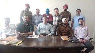 Suspected Khalistan Commando Force Terrorist Arrested by Punjab Police
